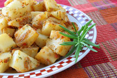 Rosemary potatoes Stock Photo