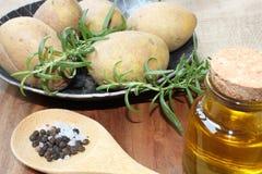 Rosemary potatoes Royalty Free Stock Photo