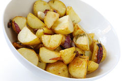 Rosemary Roasted Potatoes Stock Photo