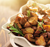 Rosemary roasted potatoes Stock Images