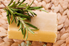Rosemary Soap Stock Images