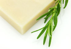 Rosemary soap Stock Photo
