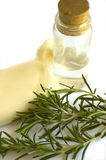 Rosemary soap Stock Photography
