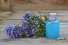 Rosemary and soap Stock Images