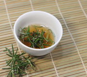 Rosemary tea Stock Images