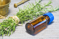 Rosemary with tincture Royalty Free Stock Photos
