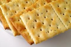 Rosemary würzte Cracker Lizenzfreies Stockbild