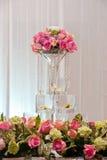 Rosen auf Hochzeit Stockbild
