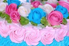 Rosen backen nahes oben zusammen stockfotografie
