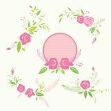 Rosen-Blumenelement Lizenzfreie Stockbilder