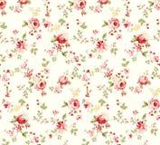 Rosen-Blumenillustrationsmuster mit dem schönen Zweig lizenzfreie abbildung