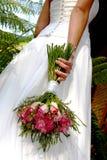 Rosen-Blumenstrauß Stockbild