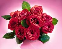 Rosen-Blumenstrauß Stockfotografie
