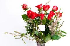 Rosen-Blumenstrauß Lizenzfreies Stockfoto