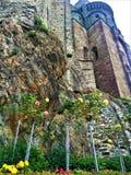 Rosen, Felsen und die Abtei Lizenzfreies Stockbild