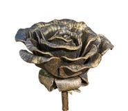 Rosen-handgemachtes geschmiedet vom Metall lizenzfreie stockbilder