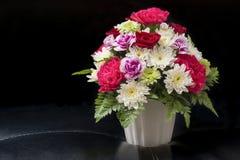 Rosen im Blumenstrauß Lizenzfreies Stockfoto