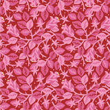 Rosen im nahtlosen mit Blumenmuster der Blüte Lizenzfreies Stockfoto