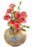 Rosen im Vase Lizenzfreie Stockfotografie