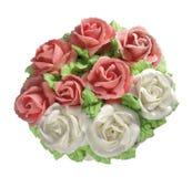 Rosen-Kuchen Stockbilder
