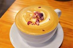 Rosen-Latte Lizenzfreies Stockfoto