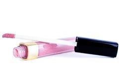 Rosen-Lippenglanz Stockbild