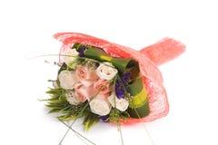 Rosen lokalisiert auf dem weißen Hintergrund Stockfotos