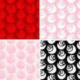 Rosen-Muster Stockfotografie