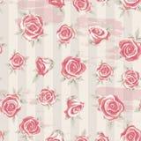 Rosen-Muster 4 Stockfotografie