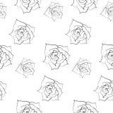 Rosen-Muster Lizenzfreies Stockbild