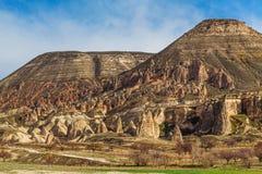 Rosen-Tal nahe Goreme, die Türkei stockfotografie