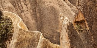 Rosen-Tal nahe Goreme, die Türkei lizenzfreie stockfotografie