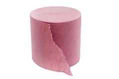 Rosen-Toilettenpapier Stockbild