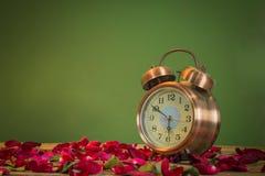 Rosen-Uhren der Liebe Lizenzfreie Stockfotos