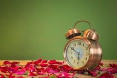 Rosen-Uhren der Liebe Lizenzfreies Stockbild