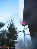 Rosen- und Glas-Gebäude in Denver Lizenzfreie Stockbilder