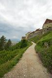 The Rosenau castle - Rasnov, Romania Royalty Free Stock Photo