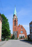 Rosenau Church Royalty Free Stock Photos
