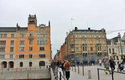 Rosenbad - Swedish government Royalty Free Stock Image