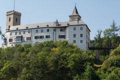 Rosenbergkasteel in de Tsjechische Republiek Royalty-vrije Stock Afbeeldingen