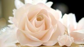 Rosenblumen-Hochzeitshintergrund Stockfotos