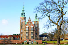 Rosenborg城堡哥本哈根 库存图片