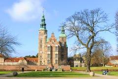 Rosenborg城堡哥本哈根 免版税库存照片