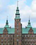 Rosenborg槽孔由Christian国王的城堡修造IV在哥本哈根,丹麦 库存图片