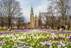 rosenborg замока Стоковое Изображение