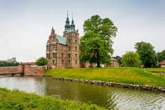 rosenborg замока copenhagen Дания Стоковое фото RF