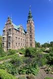 rosenborg сада замока Стоковые Изображения