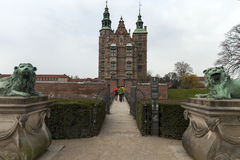 Rosenborg castel copenahagen Zdjęcia Stock
