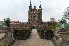 Rosenborg castel  of copenahagen Stock Photos