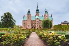Rosenborg Castle και κήπος στην Κοπεγχάγη Στοκ φωτογραφία με δικαίωμα ελεύθερης χρήσης